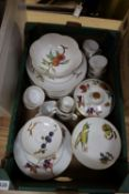 A Royal Worcester Evesham part dinner, tea and coffee service
