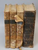 Nicholson, Peter - An Architectural Dictionary..., the Terms Employed, 3 vols, qto, burr calf,