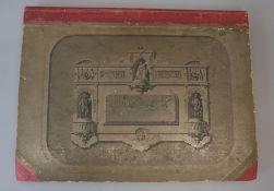 Dellassaux, Victor and Elliott, John - Street Architecture, folio, later half cloth over pictorial