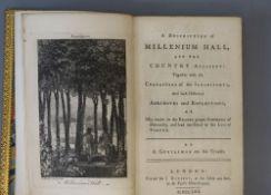 Montagu, Barbara Lady - Scott, Sarah - Millenium Hall, 12mo, rebound mottled calf, with engraved