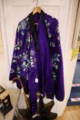 A Japanese style kimono
