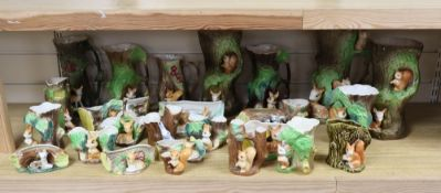 A group of Hornsea, Poole and novelty ceramics