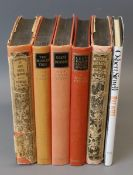 Sitwell, Osbert Sir - Left Hand - Right Hand! - An Autobiography, 1st edition, 5 vols, last 2 vols