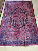 A Hamadan rug, 200 x 130cm