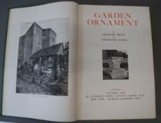 Jekyll, Gertrude and Hussey, Christopher - Garden Ornament, 2nd edition (revised), many full page