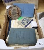 RAF signaller's archive c.1949-57 including two flying logbooks other documents and an album of