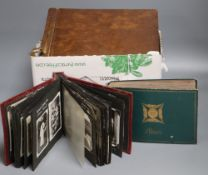 India and Singapore c.1945-47. A seven albums of photographs of army, views, etc.