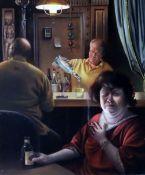 David M. Bowers (American b.1956)oil on board'Heartburn'signed, Halcyon Gallery label verso7.5 x 6.