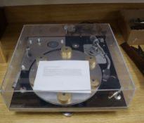 A David Gammon for Transcriptors Ltd, a Transcriptor Hydraulic Reference Turntable, design 1964,