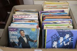 Approximately 100 45 rpm singles, 1970's / 1990's