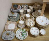 A quantity of Victorian teaware etc.