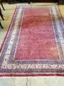 An Afshar rug, 206 x 166cm