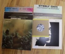 A small collection of LPs