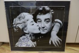 Peter Sellers, signed photograph, 46 x 56cm