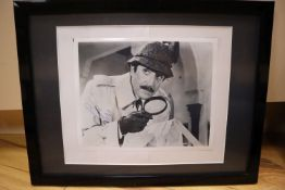 Peter Sellers, Inspector Clouseau, signed photograph, framed