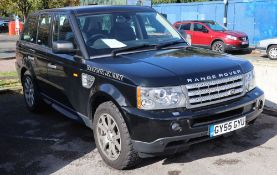 GY55 GYU. A 2005 Range Rover Sport 4.2 Supercharged V8NO BUYER'S PREMIUM CHARGE ON THIS LOT