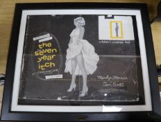 Marilyn Monroe, 'Seven Year Itch' exhibitor's campaign book