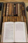 Johnson, Samuel - Works, 12 vols, 8vo, contemporary calf, scuffed, most labels lacking, London 1806