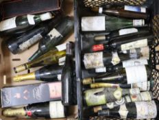 Twenty four bottles of assorted wines and ports