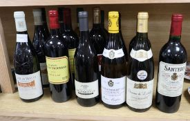 Fifteen bottles of assorted wines including two Chateau Lynch-Moasses, 2006