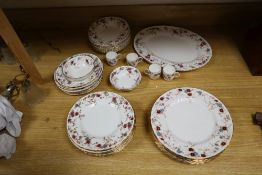 A service of Minton 'Ancestral' pattern tableware (approx. 90 pieces)