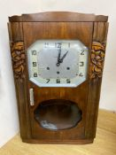 A French Art Deco style wall clock by VedetteCONDITION: We do not guarantee working condition