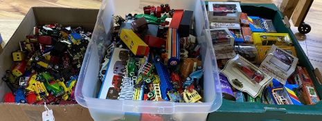 Matchbox Toys, many boxed, and a quantity of unboxed die-cast toysCONDITION: Boxed items good -