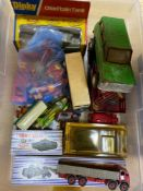 Dinky Toys including 901 Foden Diesel eight wheel wagon, unboxed, Military Series and other