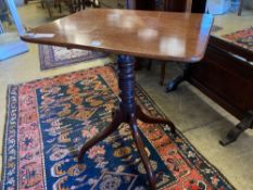 A Regency mahogany occasional table, width 67cm depth 53cmCONDITION: Top looks to have been