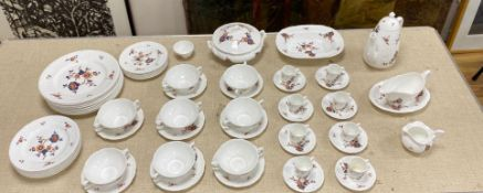 A Coalport St Louis pattern dinner service (8)CONDITION: Rarely used - light surface scratching to