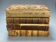 Britton, John - Britton's Cathedrals, vols 1- 4 (sold waf)