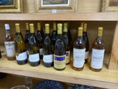 Mixed white wines, including Blason de Bourgogne Montagny 1er Cru Cuvee 2007 (12 bottles), La