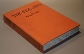 James, M.B. - The Five Jars, first edition, title illustration and 7 plates, black lettered cloth,