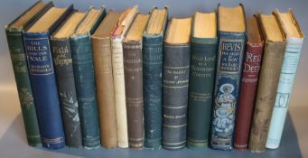 Jefferies, Richard - An interesting selection (of 14 volumes)CONDITION: Includes - The Gamekeeper At