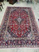 A Kashan carpet, 311 x 210cm
