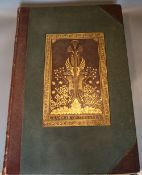 Jones, Owen - The Grammar of Ornament, 1st folio edition, contemporary half morocco gilt, with