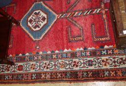A Hamadan rug, 220 x 150cm