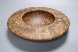 A java wood bowl, 31cm