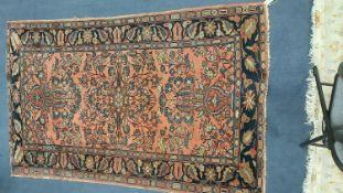 A North West Persian rug, 210 x 130cm