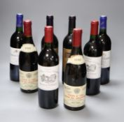 Two bottles of Chateau La Fleur Saint-Christophe, 1990, two Cantenac Brown, 1989, two Laroche-