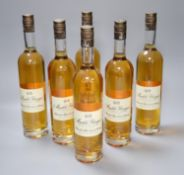 Six bottles of Muckle Flugga blended malt Scotch whisky