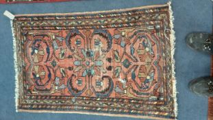 A North West Persian rug, 115 x 75cm