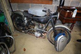 A Douglas MK5 motorcycle, 350cc circa 1951