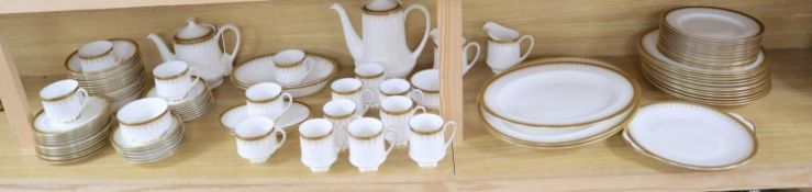 An extensive Paragon ' Athena' pattern dinner, tea and coffee service (88 pieces)