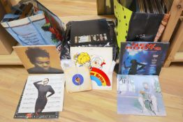 A collection of 1970's/80's LP's