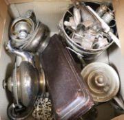 A quantity of sundry plated wares