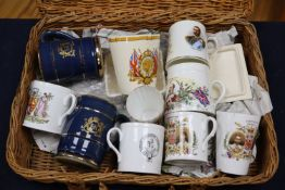 A group of Royal Commemorative ceramics from 1902