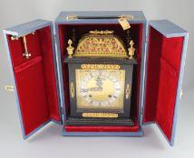 An F. W. Elliott Golden Jubilee clock, modelled in the style of a late 17th century bracket clock,