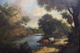 Henry Ladbrooke (1800-1870)oil on canvasView near Knaresborough28 x 39in.CONDITION: Oil on canvas