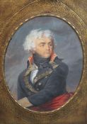 Attributed to Jean Guerin (1760-1836)watercolourPortrait of General Klebertitle plaque verso8.75 x